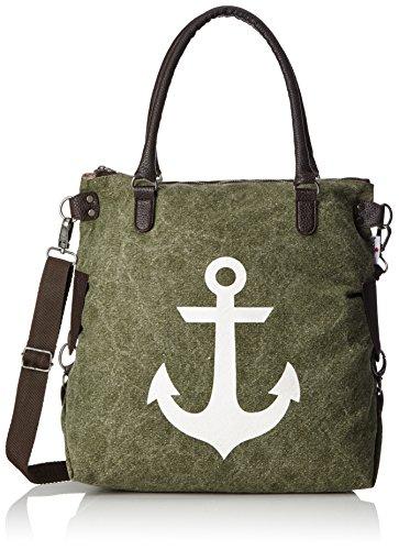 Bags4Less Borsa Messenger, Washed-Grün (verde) - 4251042580005