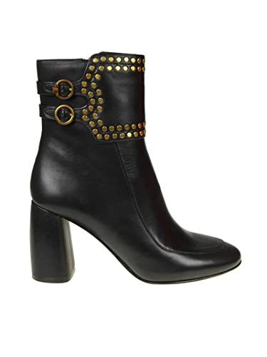 0004f742b3670 Tory Burch Women s 40720001 Black Leather Ankle Boots  Amazon.co.uk  Shoes    Bags
