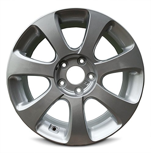 Road Ready Car Wheel For 2011-2013 Hyundai Elantra 17 Inch 5 Lug Silver Aluminum Rim Fits R17 Tire - Exact OEM Replacement - Full-Size Spare