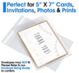 """Pack It Chic - 5"""" X 7"""" (200 Pack) Clear"""