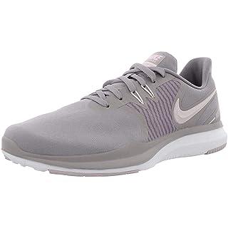 Nike Women's in-Season TR 8 Women's Training Shoes (7.5, Grey/Pink)