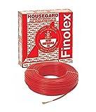 Finolex 4Sqmm Wire 90m coil - Red