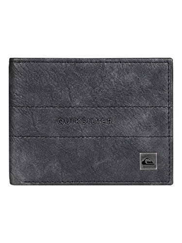 Quiksilver Men Stitched III Wallet One Size Black