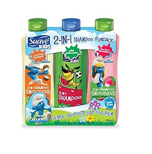 Enfants Suave 2-en-1 Shampoo FunPack - 22,5 fl. oz - 3 pk.