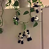 DEESEE(TM) New1Pc Cute Soft Plush Panda Fridge Magnet Refrigerator Sticker Gift Souvenir Decor