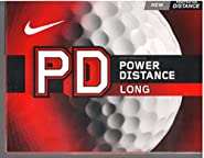 Nike Golf PD Long Power Distance Golf Balls, White