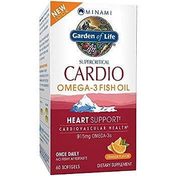 Garden of life epa dha omega 3 fish oil for Fish oil for heart