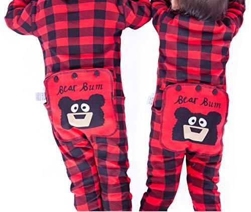 0191de7df6 Christmas Family Matching Onesies Pajamas Adult Kids and Infant Pajamas  Xmas Holiday Sleepwear One-Piece Nightwear  Amazon.co.uk  Clothing
