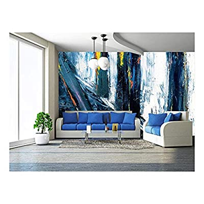 That You Will Love, Dazzling Creative Design, Very Large Scale Original Abstract Painting