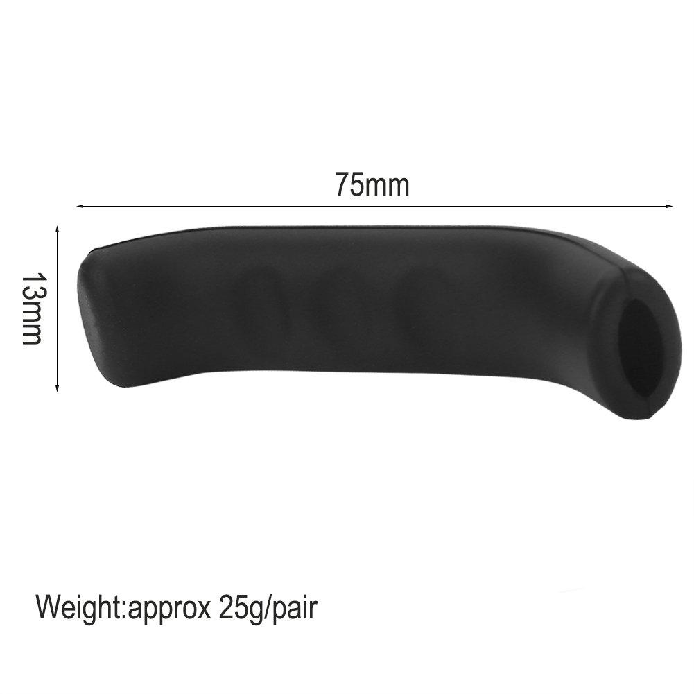 Keenso Protectores para Manetas de Bici Agarre de Silicona Impermeable para maneta de Freno Antideslizante