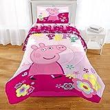 Peppa Pig Tweet Tweet Oink 2 Piece Twin/Full Comforter with Sham
