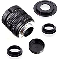 Fujian 35mm f/1.7 CCTV cine lens for Sony NEX E-mount camera & Adapter bundle for Sony NEX7 NEX-F3 a6000 a5000 a3500