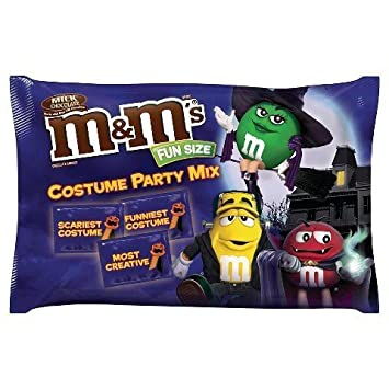 Mu0026Ms Fun Size Halloween Costume Party Mix 19oz Bag  sc 1 st  Amazon.com & Amazon.com : Mu0026Ms Fun Size Halloween Costume Party Mix 19oz Bag ...