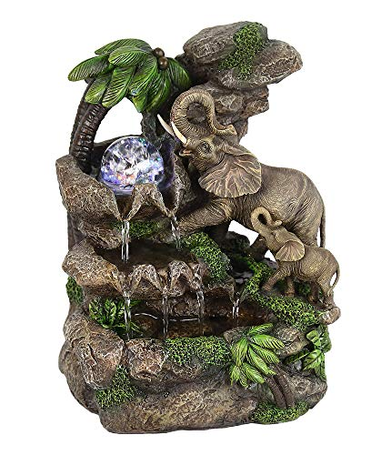 ORE International FT-1225/1L Elephant Table Fountain, 11