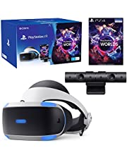 PlayStation VR with Camera and VR Worlds Game (V4)