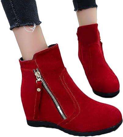 Chaussures Bottines Femme, Xinantime Couleur unie Bottes
