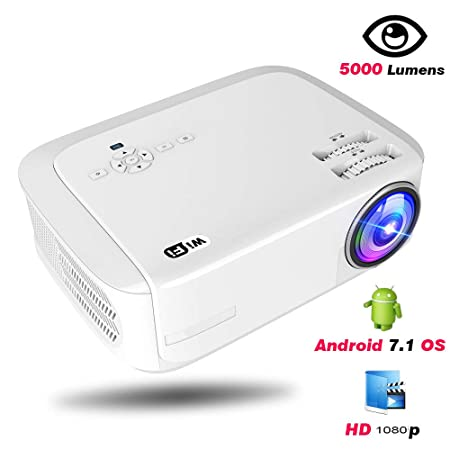 Proyector, proyector de vídeo 6000 Lux 20000 horas de vida útil de ...
