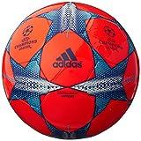 adidas Performance Finale 15 Capitano Soccer Ball, Solar Red/Solar Orange/Bold Blue, 5