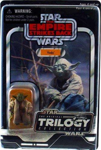 2bd4a9aab3 Amazon.com  Hasbro Star Wars Original Trilogy Collection 2004 Yoda ...