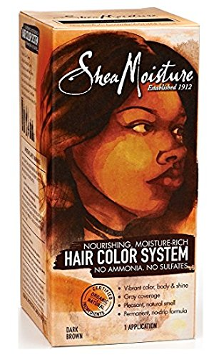 Shea moisture Dark Brown Hair Color System by Shea Moisture by Shea Moisture