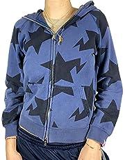 Dam Y2k estetisk huvtröja med hel dragkedja ansikte porträtt tryck överdimensionerad tröja E-Girl 90-tal baggy långärmad jacka kappa