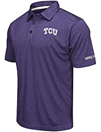 Mens TCU Horned Frogs Short Sleeve Polo Shirt