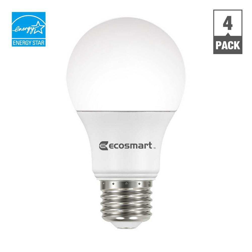 ecosmart 40w equivalent daylight a19 energy star and dimmable led