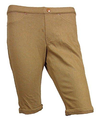 UPC 888172122061, Hue Original Jeans Boyfriend Shorts Large Classic Tan