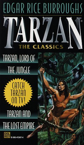 book cover of Tarzan, Lord of the Jungle