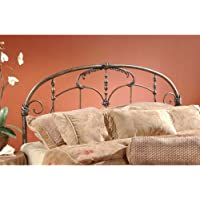 Jacqueline Metal Headboard Size: King