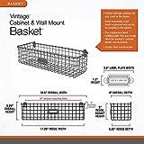 Spectrum Diversified Vintage Basket, Rustic