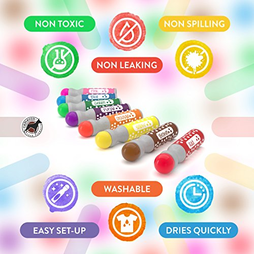 8 pack washable dot markers bingo daubers dabbers dauber dawgs 8 pack washable dot markers bingo daubers dabbers dauber dawgs kids toddlers fandeluxe Image collections