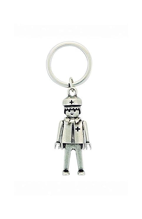 Llavero Playmobil Médico tamaño pequeño (Producto Oficial).