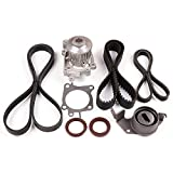 ECCPP Timing Belt W/ Water Pump Kit For 2002-2007 MITSUBISHI LANCER 2.0L SOHC 16V 4G94