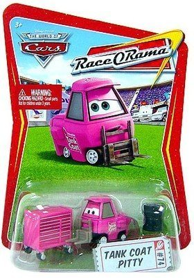 Disney / Pixar CARS Movie 1:55 Die Cast Car Series 4 Race-O-Rama Nitroade Pitty ()