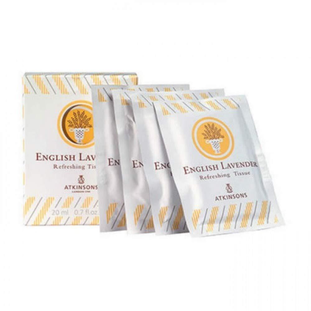 english lavender refreshing tissue salviette profumate 10 pz x 2 ml Atkinsons