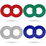 Kyпить 44SPORT Olympic Fractional Plates -Pair of 1/4, 1/2, 3/4, 1 lb Weights (8 Total) на Amazon.com