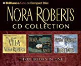 Nora Roberts CD Collection 1: The Villa, Midnight Bayou, Three Fates