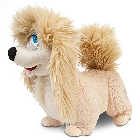 Disney Exclusive Lady the Tramp 11 Inch Deluxe Plush Lhasa Apso Figure