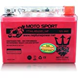 YTX4L-BS 12V 4Ah High Performance GEL Motorcycle Battery by Neptune