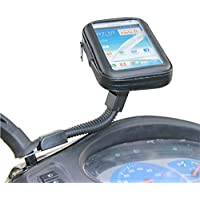 Universal Motorcyle Scooter Electric Car Rearview Mirror Mount Holder Stand Bag 5.2-5.5Phone GPS Waterproof Case for iPhone6 Plus Note3/4 S5/6 J7 A8