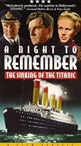 A Night to Remember: The Sinking of the Titanic [VHS]