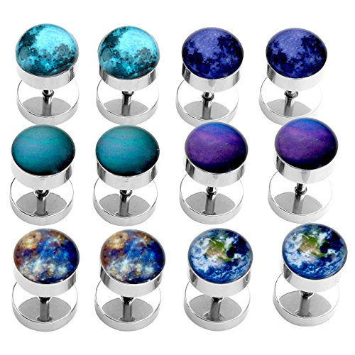 PiercingJ Universe Stainless Earrings Illusion product image