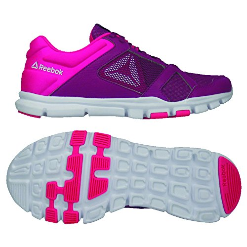 Chaussures Twisted de White Multicolore Garçon Trainette Fitness 10 Yourflex Pink Reebok Twisted MT 000 Berry qPWIOp4xw