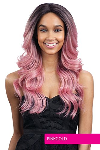 FreeTress Equal Synthetic Hair Premium Delux Wig Cameron (PINKGOLD)