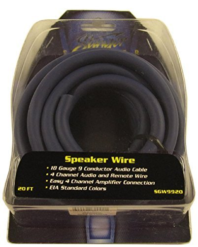 - Stinger 9 Conductor Speedwire Speaker Wire - 20 feet, Model: SGW9920, Electronic Store