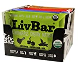LivBar Nutrition Health Food Bars | High Protein Organic Gluten-Free Superfood | Variety Pack with Vegan Lemongrass Cherry Matcha, 12 count Review