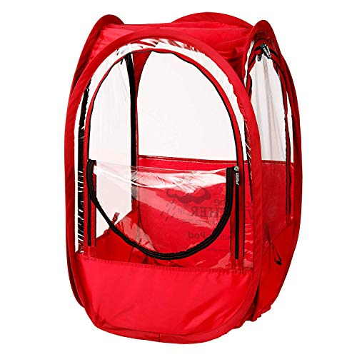 Under the Weather StadiumPod – 1-Person Wearable Weather Protection from Cold, Wind and Rain in Stadium Seating