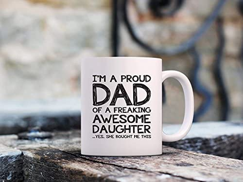 Daughter Her MFCGCM Mothers Day Gift Idea From Son Him Unique Cup For Men Best Birthday