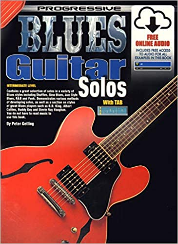 Progressive Blues Guitar Solos: Amazon.es: Gelling, Peter: Libros ...